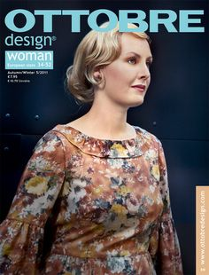 OTTOBRE woman design magazine is for those who love sewing. Each womens issue includes 19-20 trendy and fun-to-sew designs with complete full-scale