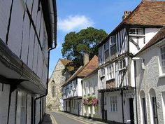 Sandwich, Kent - oldest medieval town in England