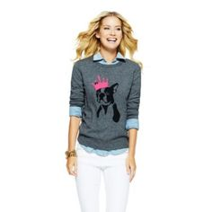 King Frenchie Intarsia Sweater | Get Prepped | What's New | Categories | C. Wonder