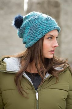 Pistil Foxie Slouch Style Beanie - Womens Fall Winter 2015, Winter Hats, Outdoor Brands, Faux Fur Pom Pom, Winter Wonder, Diamond Pattern, Style Guides, Hand Knitting, Knitted Hats