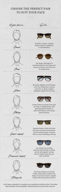 Choosing the perfect pair According to Your Face