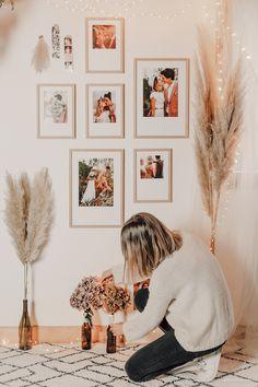DIY déco : un mur de cadres bohème - C by Clemence Photo Cabine, Photos Voyages, Style Retro, Jolie Photo, Decoration, Gallery Wall, Frame, Blog, Home Decor