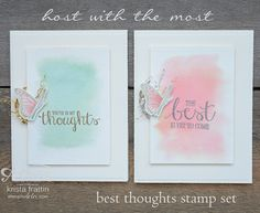 Host with the Most! Exclusive stamp sets for the party host! - krista frattin