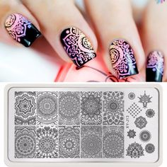 Cheap nail stamping plates, Buy Quality stamp plate directly from China stamping plates Suppliers:    Describe:       100% brand new & high quality       Color:as the picture show       Size:12*6cm       Package:1 *