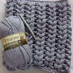 Learn A New Crochet Stitch: V-Shaped Puff Stitch