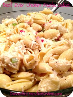 The Best Ever Chicken Pasta Salad recipe