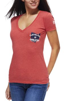 Cleveland Is Greater - Women's V-Neck