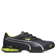 dec90084be52a4 Puma Cell Surin Running Shoe Black Yellow