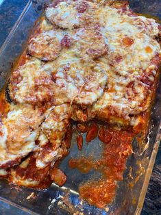 This keto baked eggplant parmesan recipe is amazing! Healthy eggplant parmesan that is gluten-free and low-carb - what a find! So easy to make and tastes so good, you won't believe this eggplant parmesan is actually healthy!
