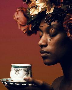 #creativity #creativephotography #natutalhair #amazingphoto #blackbeauties #melanin #instaflower #chained #naturalhairdaily #blackpride…