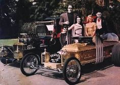 The Munsters Awesome cars :)