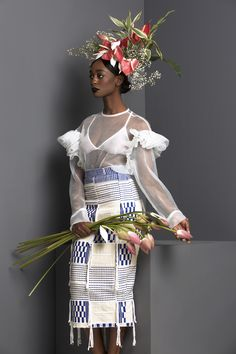 Saint Heron highlights the work of the talented, black designer Loza Maléombho during fashion week.