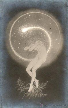 postal de fidus (hugo hoppener), titulada tempe | 18667245