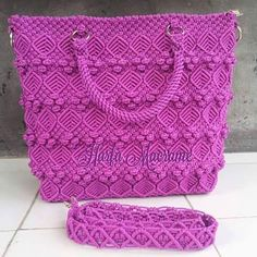 macrame 2016 - Recherche Googl e Macrame Purse, Macrame Dress, Macrame Owl, Macrame Curtain, Macrame Knots, Micro Macrame, Macrame Design, Handmade Purses, Macrame Projects