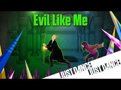 Just Dance Disney Party 2 - Evil Like Me - YouTube