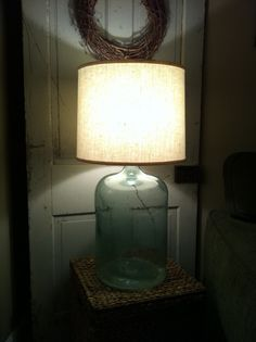 Wonderful Diy Bottle Lamp Design Ideas You Must Know - Lighted wine bottles are a creative way to light up a special occasion or give a unique gift to someone special. If you have a lot of empty bottles ar. Lighted Wine Bottles, Bottle Lights, Glass Bottles, Empty Bottles, Mason Jar Lamp, Mason Jar Crafts, Diy Bottle Lamp, Bottle Art, Lamp Design