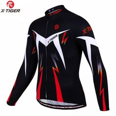 X-TIGER 2020 Autumn Pro Cycling Jerseys Long Sleeve MTB Bicycle Cycling Clothing Sportswear Mens Bike Cycling Clothes Price: 33.98 & FREE Shipping #staysafe #practicesafetyguidlines #fashion|#sport|#tech|#lifestyle Cycling Jerseys, Cycling Wear, Cycling Outfit, Pro Cycling, Buy Bike, Bike Run, Bike Wear, Bicycle Clothing, Cycling Clothing