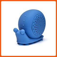 """On Hand Creature Speaker, """"Beyoncé"""" Blue Snail Shower - Audio gadgets (*Amazon Partner-Link)"""