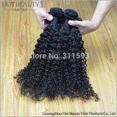 Brazilian kinky Curly Virgin Hair 1pc Sample 100%  Virgin Remy Human Hair Full Cuticle Dyeable Beachable human hair extension