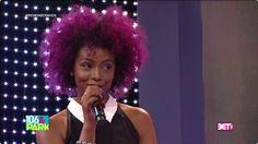 Justine Skye Purple Hair #justineskye