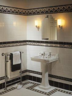 Black Fan   Original Style - Stone, Mosaic and Glass Tiles