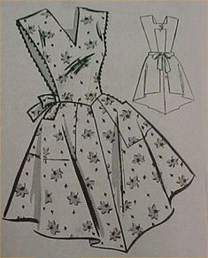 Details about Vintage Bib Apron Full Size Pattern FLAPPER Look Sewing Fabric Project 2019 The post Details about Vintage Bib Apron Full Size Pattern FLAPPER Look Sewing Fabric Project 2019 appeared first on Fabric Diy. Retro Apron Patterns, Apron Pattern Free, Vintage Apron Pattern, Aprons Vintage, Vintage Sewing Patterns, Dress Patterns, Bib Apron, Apron Dress, Sewing Aprons