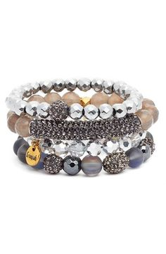 Free shipping and returns on Erimish Beaded Bracelets (Set of 4) at Nordstrom.com. Woven seed beads and sparkling crystals mix to boho-glam effect in this set of four bracelets that look great styled as a stack or when paired with your other favorite pieces.