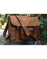 e2afc41dadf3c Amazon.com  Rustic Town Genuine Leather Laptop Bag Leather Messenger bag  15