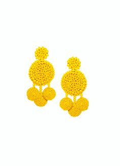 Beaded flamenca earrings, the perfect accessory to take you from day to night.