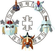 Gomamon: Emblema de Sinceridad