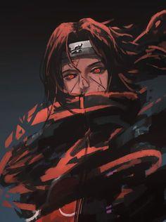 Itachi's life is more precious than the village. Naruto Shippuden Sasuke, Itachi Uchiha, Anime Naruto, Sasuke Sakura, Gaara, Boruto, Fan Art Naruto, Manga Anime, Wallpaper Naruto Shippuden
