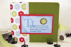 Splitcoaststampers - Pull-Out Scrapbook Project Tutorial by Corinne Somerville