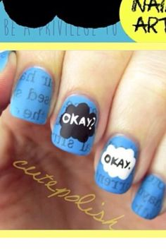 Fault In Our Stars Nails
