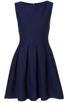 $92 Classic Dress from Topshop simple and elegant. Could dress this up.