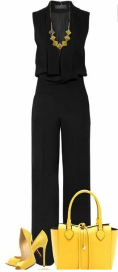 This is so elegant/comfortable-looking. I need this!  |Clothing ideas||Jumpsuits||Businesswear ideas|Formal pantsuits||Outfit ideas||Evening out clothes|My style|