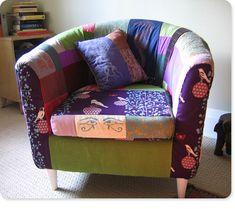 Ikea Tullsta Slipcover Pattern