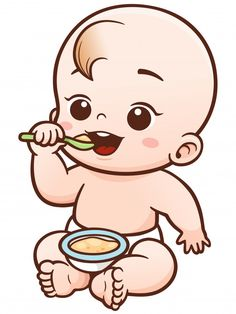 Find Vector Illustration Cartoon Cute Baby Eating stock images in HD and millions of other royalty-free stock photos, illustrations and vectors in the Shutterstock collection. Thousands of new, high-quality pictures added every day.
