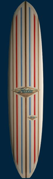 Endless Summer Hobie Surfboard: Replica shape made famous by Mike Hynson in Bruce Brown's movie, The Endless Summer. Made to Hynson's exact specifications this is a beautiful piece of art to add to your collection of classics.