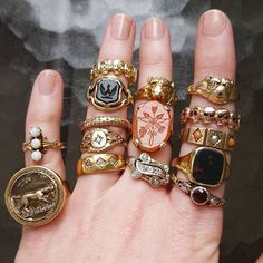 Rings by Vulpecula Jewelry