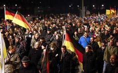 PARROT EYE! The EYE of Information: Anti-immigration Protest in Germany!!!