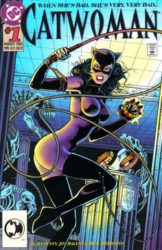 Catwoman #1 (1993 series) - cover by Jim Balent