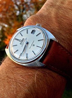 Vintage OMEGA Constellation C-Case Chronometer In Stainless Steel