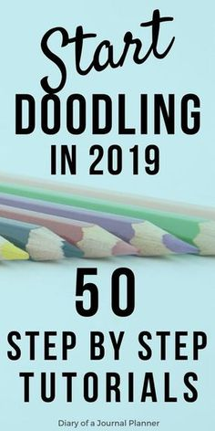 Ultimate list of doodles, step by step tutorials. ultimate list of doodles, step by step tutorials art inspiration drawing, bullet journal inspiration Bujo Doodles, Planner Doodles, Doodle Art Journals, Doodle Art Letters, Art Inspiration Drawing, Doodle Inspiration, Simple Doodles, How To Doodles, Doodles Zentangles