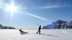EAST GREENLAND # Tasiilaq Fjord # Inuit Fisherman # Photo by Ulrike Fischer
