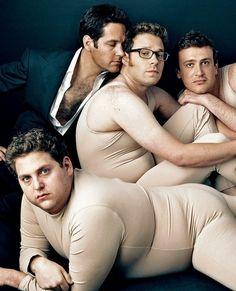 Jonah Hill, Paul Rudd, Seth Rogen Jason Segel by Annie Leibovitz