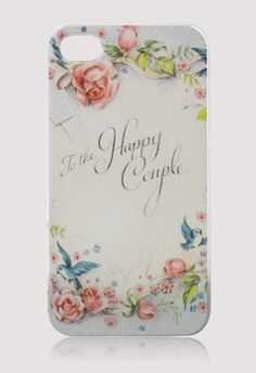 Retro Rose Letter Mobile Phone Case