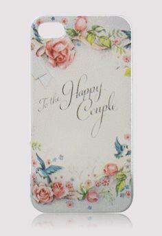 Retro Rose Letter Mobile Phone Case