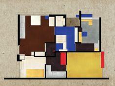 Gerrit T. Rietveld Rietveld Schröder House, 1924, Utrecht, The Netherlands - Plans of Architecture