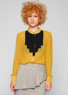 spectacular blouse!