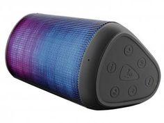 Caixa de Som Multilaser Led Music Box - 15W com Bluetooth Entrada USB Led Light